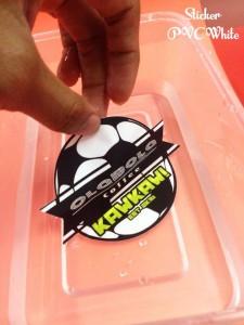 sticker kalis air untuk usahawan produk