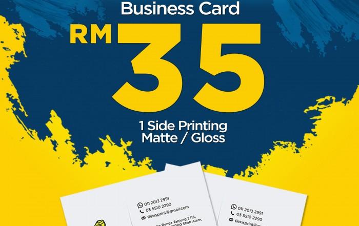 TEMPAH BUSINESS CARD CEPAT SIAP
