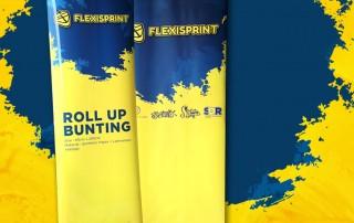 roll up bunting printing-murah