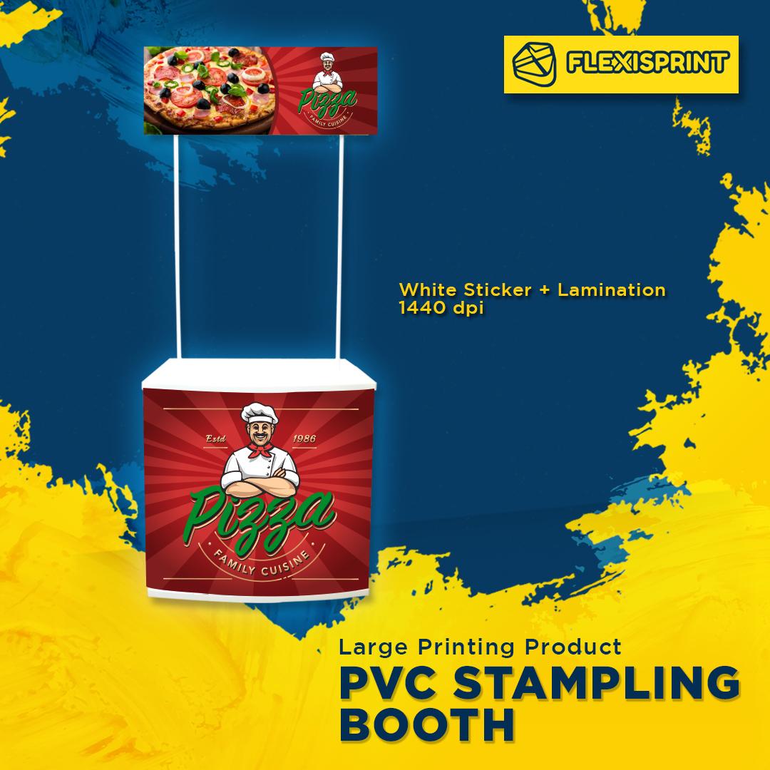 pvc counter sampling-booth kedai printing-shah alam
