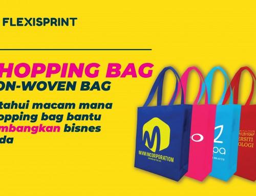 Non Woven Bag Sebagai Trend Shopping Bag Terkini
